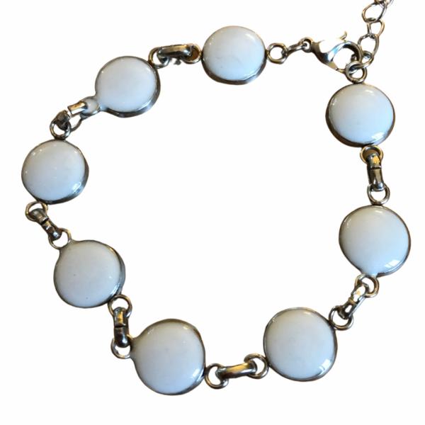 bracelet cabochon lait maternel