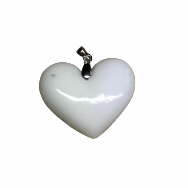 pendentif coeur de lait maternel